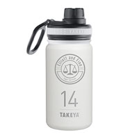 THERMO14W-14 oz. Takeya® Thermoflask White