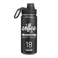 THERMO18B-Takeya® Thermoflask 18 oz. Black