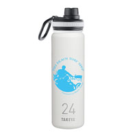 THERMO24W-Takeya® Thermoflask 24 oz. White