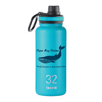 THERMO32BU-Takeya® Thermoflask 32 oz. Ocean Blue