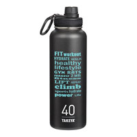 THERMO40B-Takeya® Thermoflask 40 oz. Black