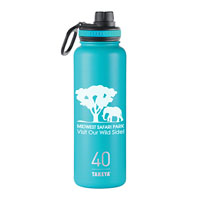 THERMO40BU-Takeya® Thermoflask 40 oz. Ocean Blue