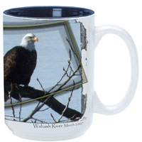 TTW304-SUB-El Grande Mug 15 oz. Blue In/White Out Sublimation
